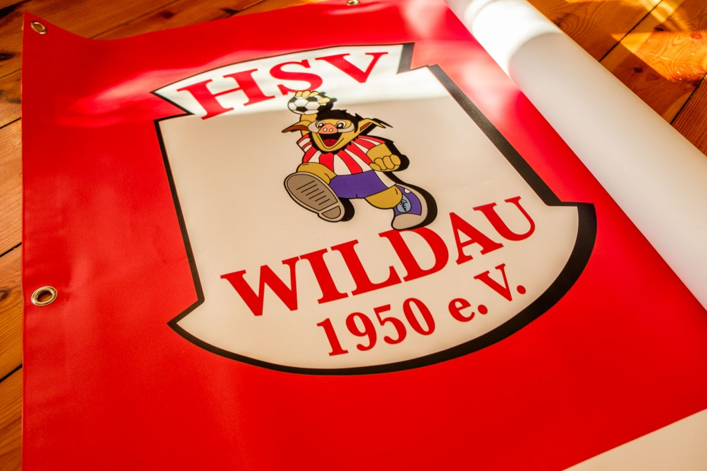HSV Wildau Banner rechts aussen
