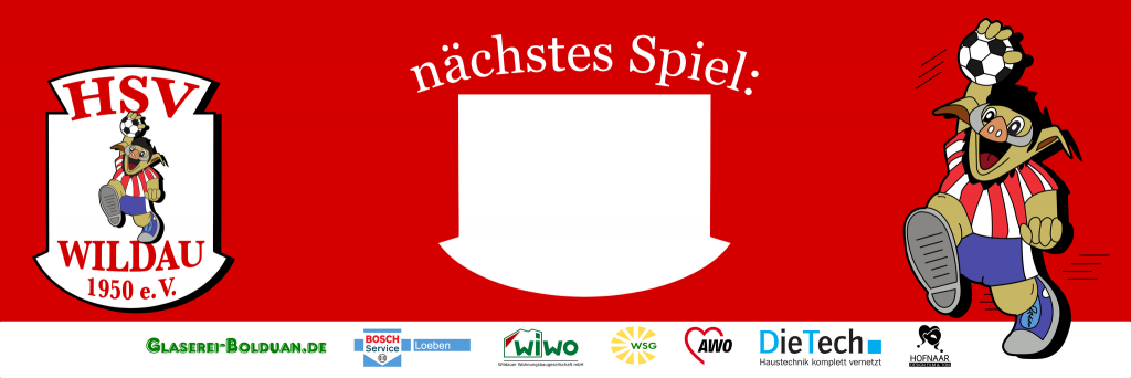 HSV Wildau Banner-6m x 2m
