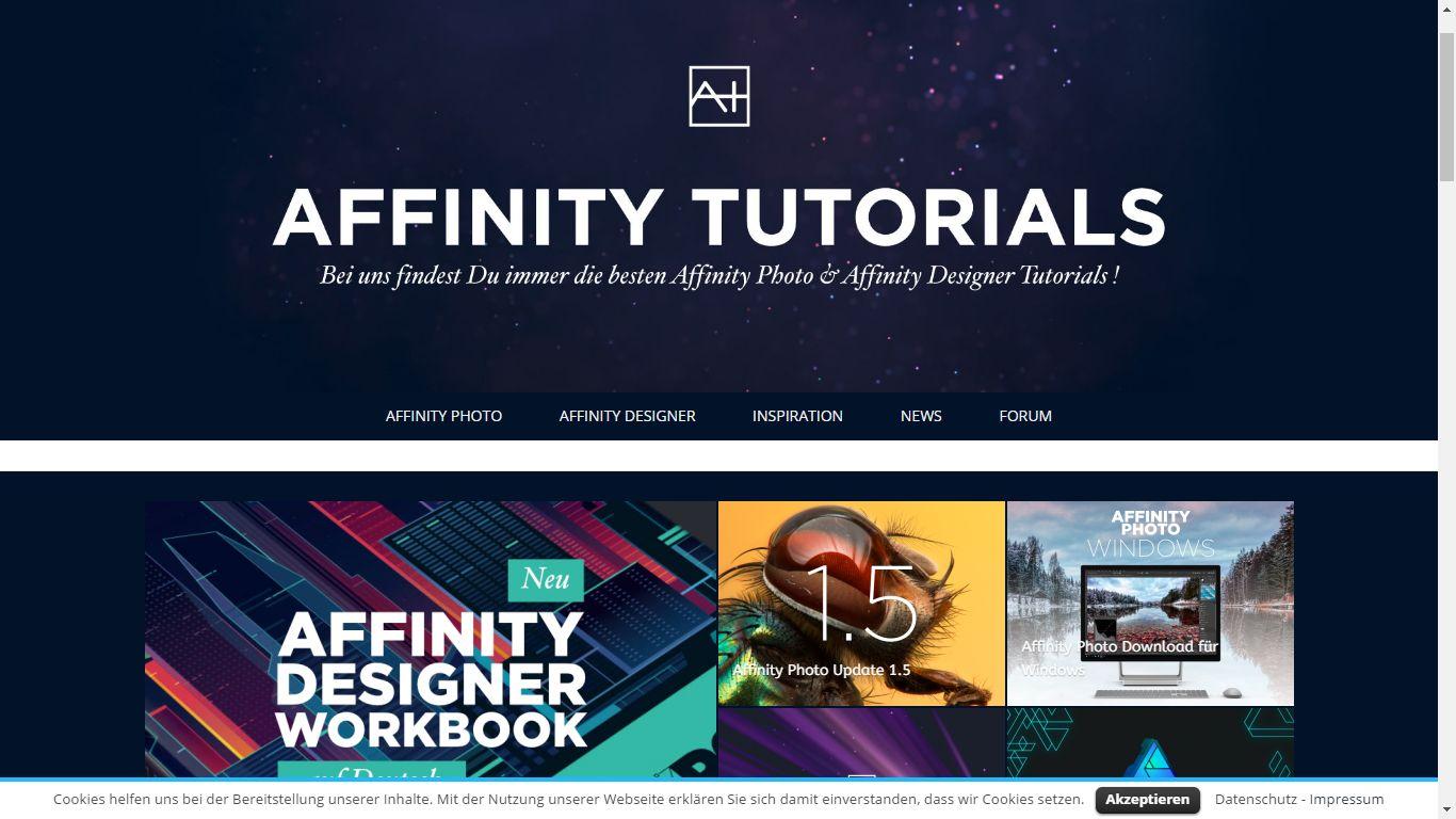 Affinity Designer Web Design Tutorial