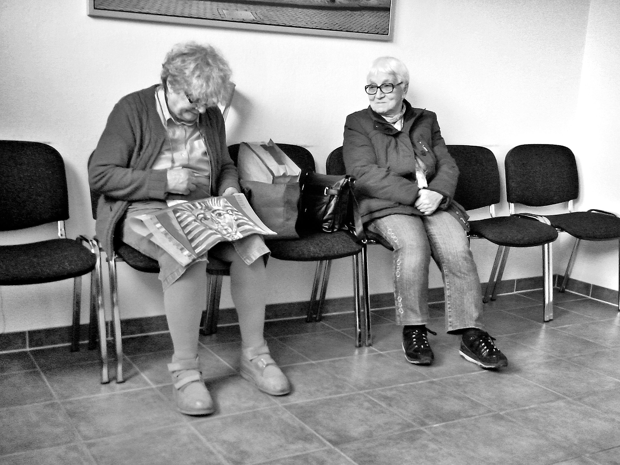 2 grandmas at the doctor, wildau 2015