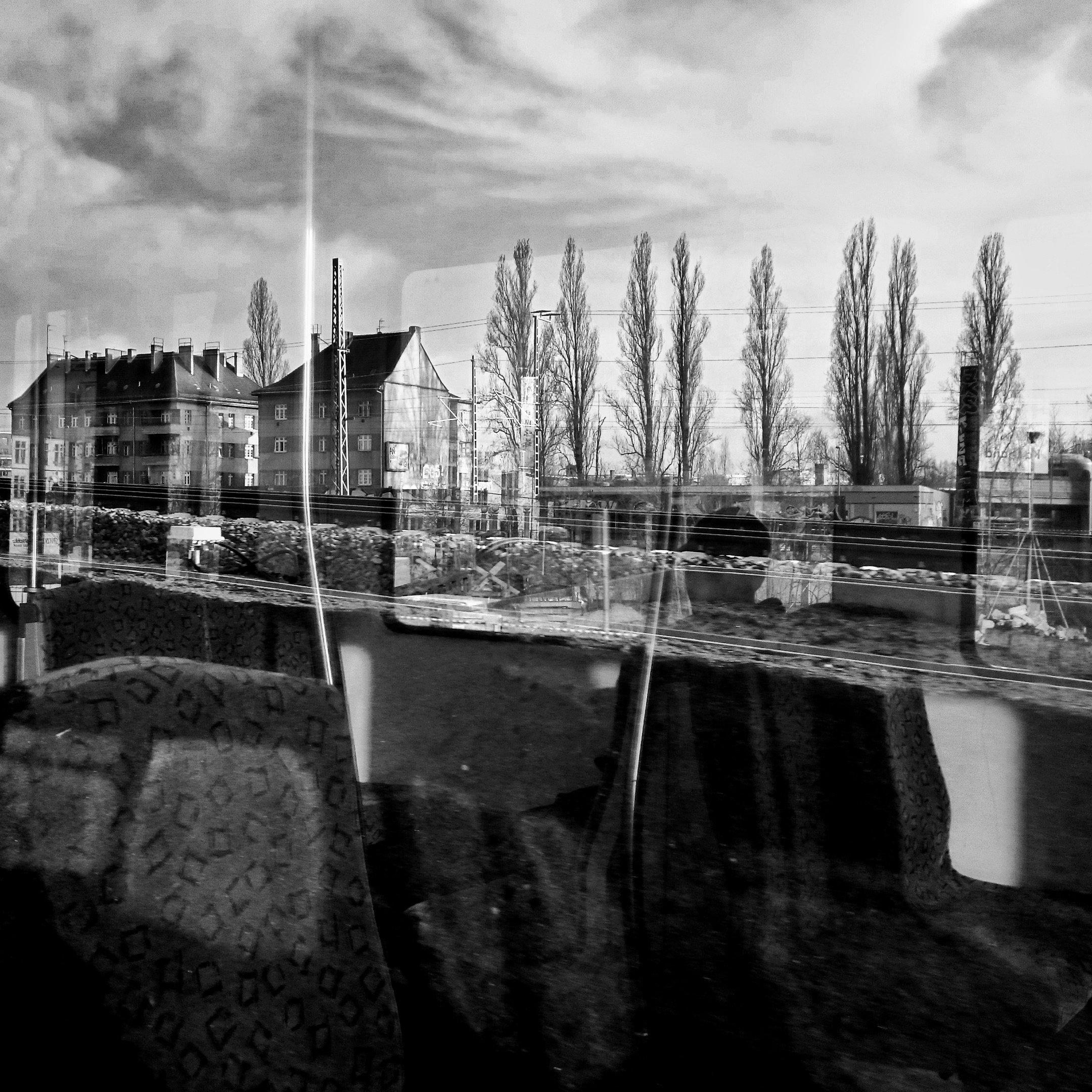 somewhere in a train, berlin schöneweide, 2016